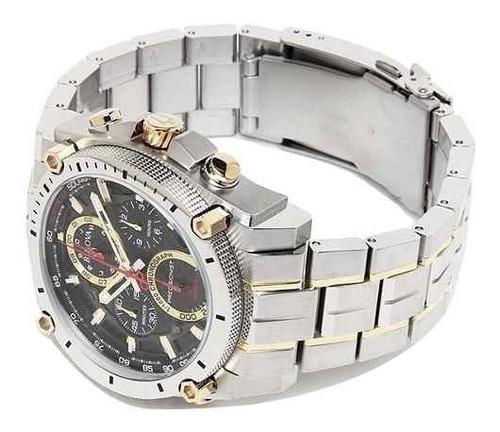relógio bulova 98b228 precisionist uhf 262 misto dourado
