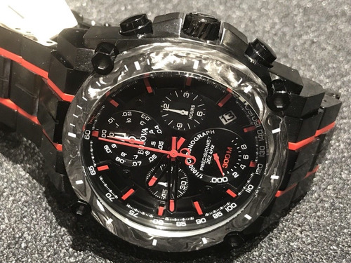 relógio bulova 98b313 precisionist preto vermelho lançamento