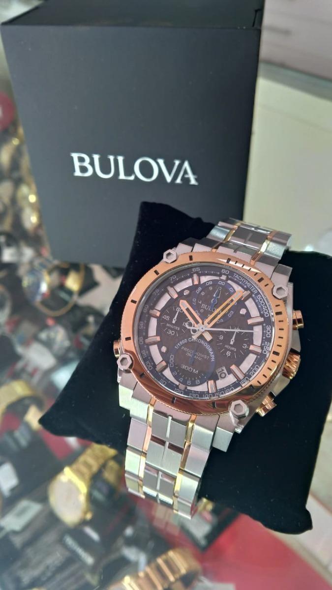 728867f933b Relógio Bulova 98b317 Precisionist Original - R  4.299