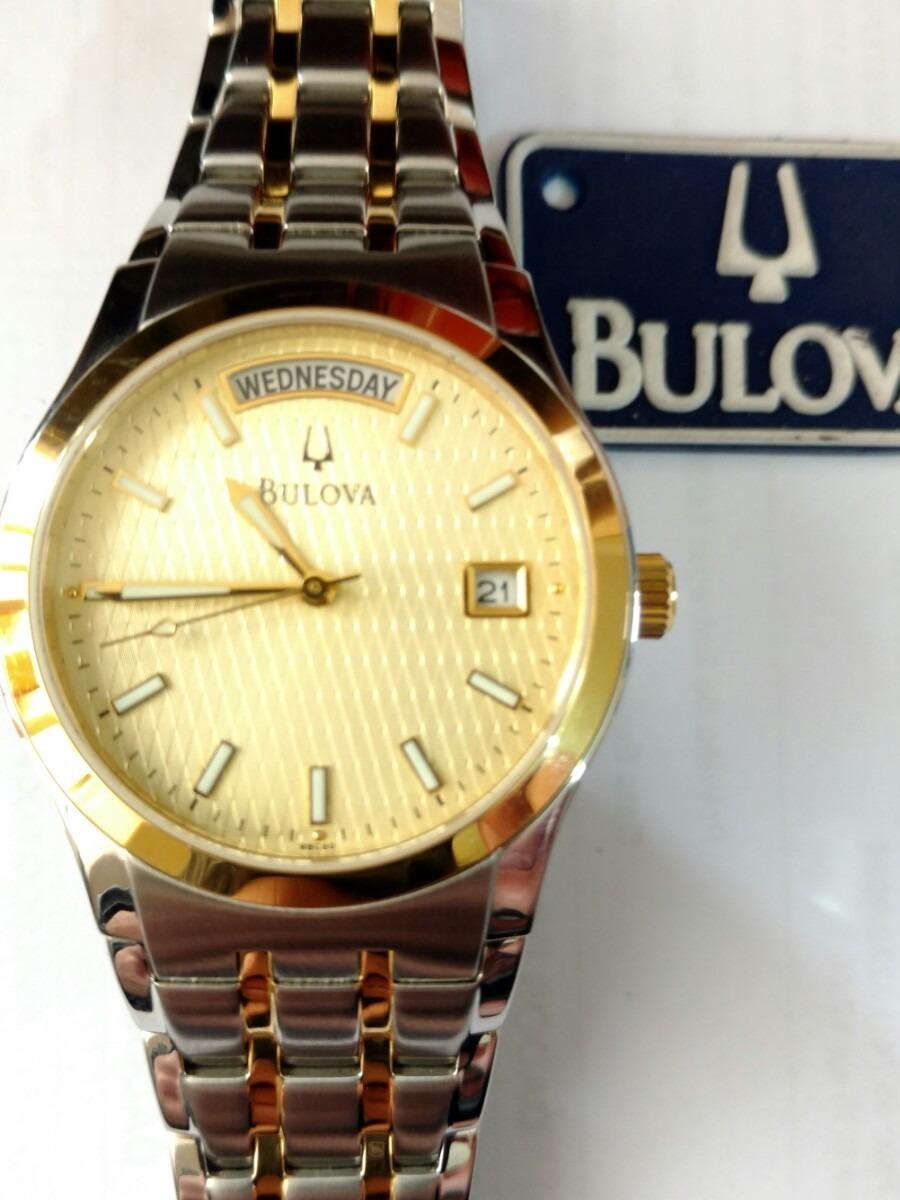 32a7e2dc51c Relógio Bulova 98c60 Original - R  1.220