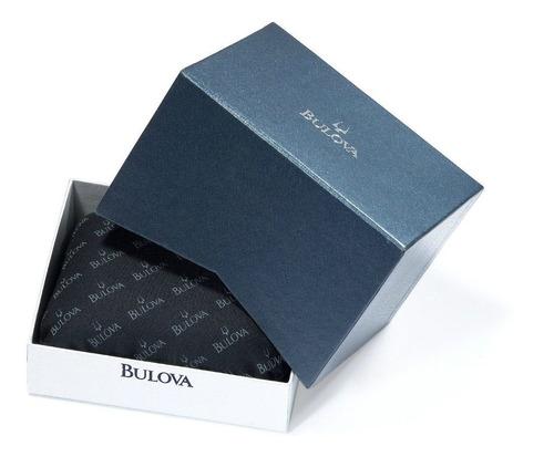 relógio bulova 98d001 orig chron anal black diamond