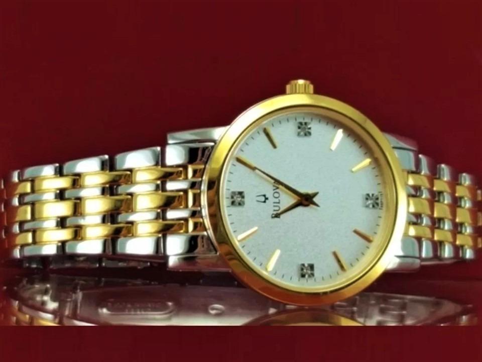 cabbfb403f2 Relógio Bulova 98p115 Original