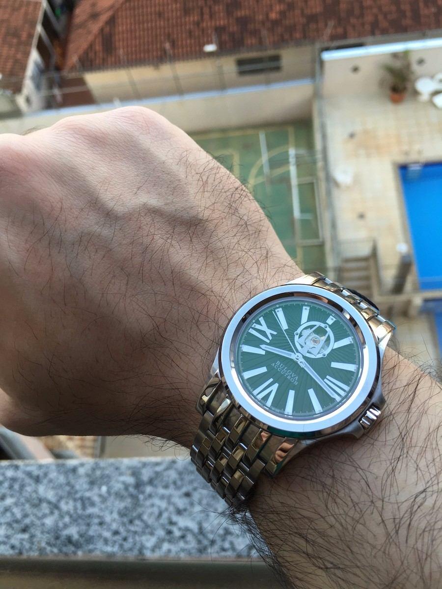 043261e2671 relógio bulova accutron kirkwood automatic 63a103 swiss made. Carregando  zoom.