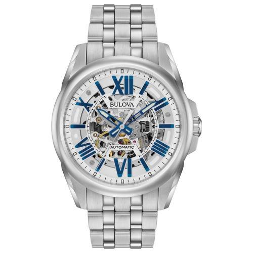 c7a0dc1c683 Relógio Bulova Automático Esqueleto Wb31998f   96a187 - R  2.600