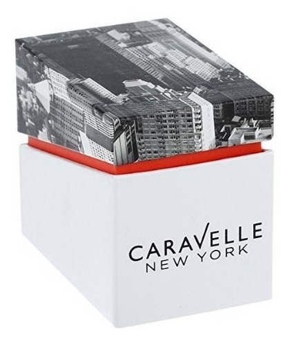 relogio bulova by caravelle new york  44b104
