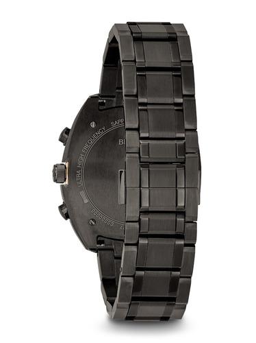relógio bulova curv 98a158 gunmetal  black lançamento