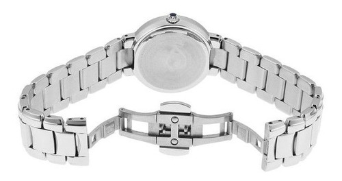 relógio bulova feminino wb27618q precisionist prat. diamante