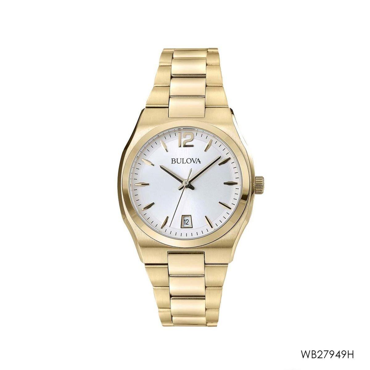 f6061d4f0ba relógio bulova feminino wb27949h original e barato. Carregando zoom.
