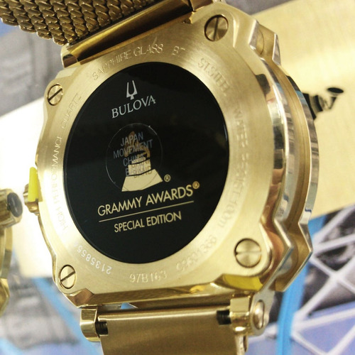 relógio bulova grammy 97b163 edição limited