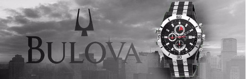 relógio bulova marine star chrono wb30999t - garantia e nfe