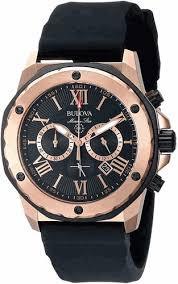 relógio bulova marine star chronograph 98b104