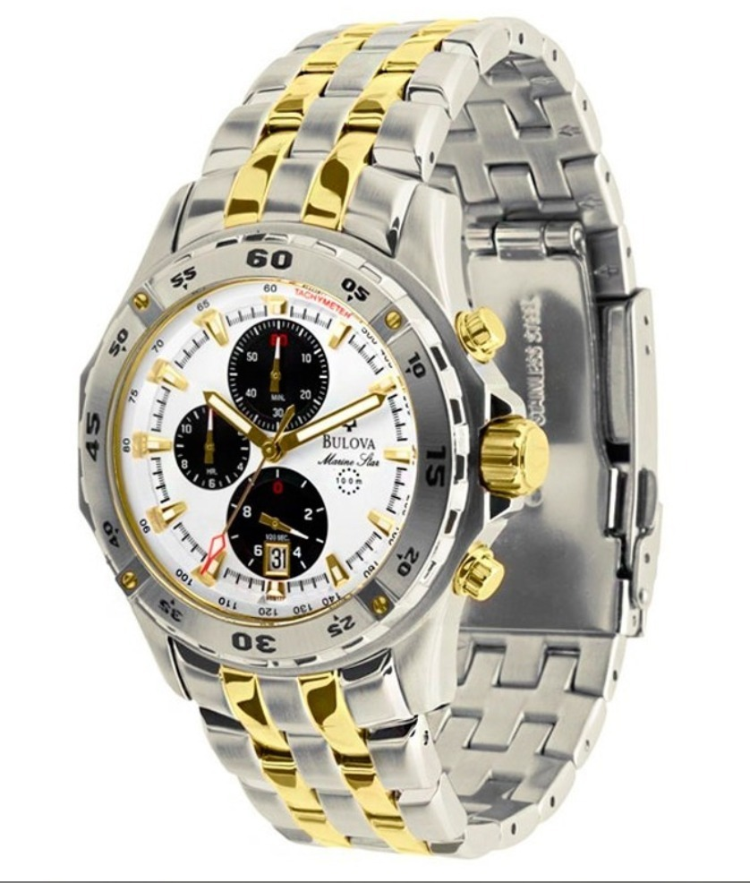 60055f1347f relógio bulova marine star swiss original + 3 anos garantia. Carregando zoom .