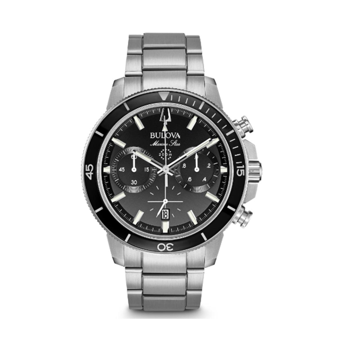 64e0ace32ee Relógio Bulova Masculino Marine Star Chronograph 96b272 - R  2.149 ...