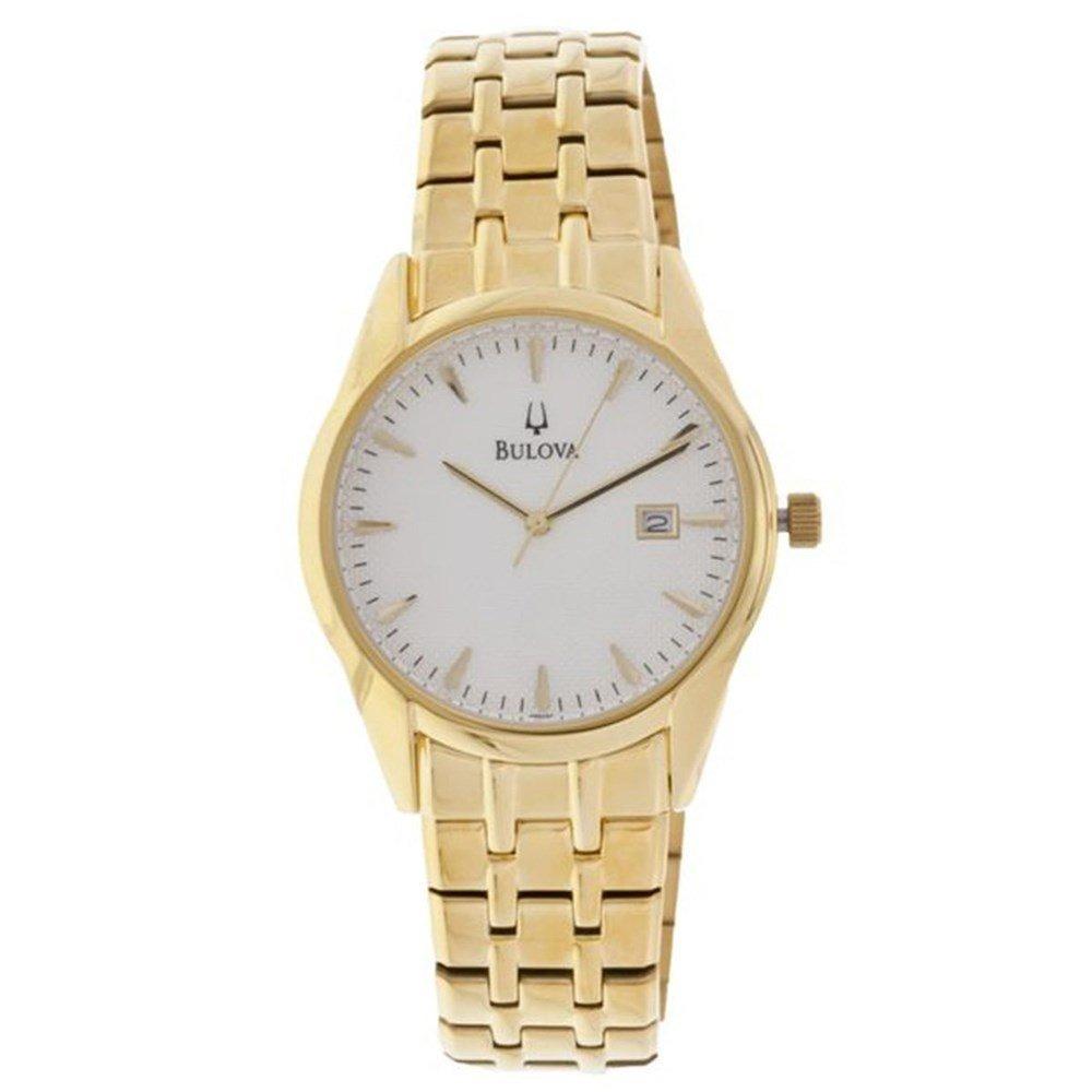 79e5a95b76a relógio bulova masculino aço dourado wb21445h. Carregando zoom.