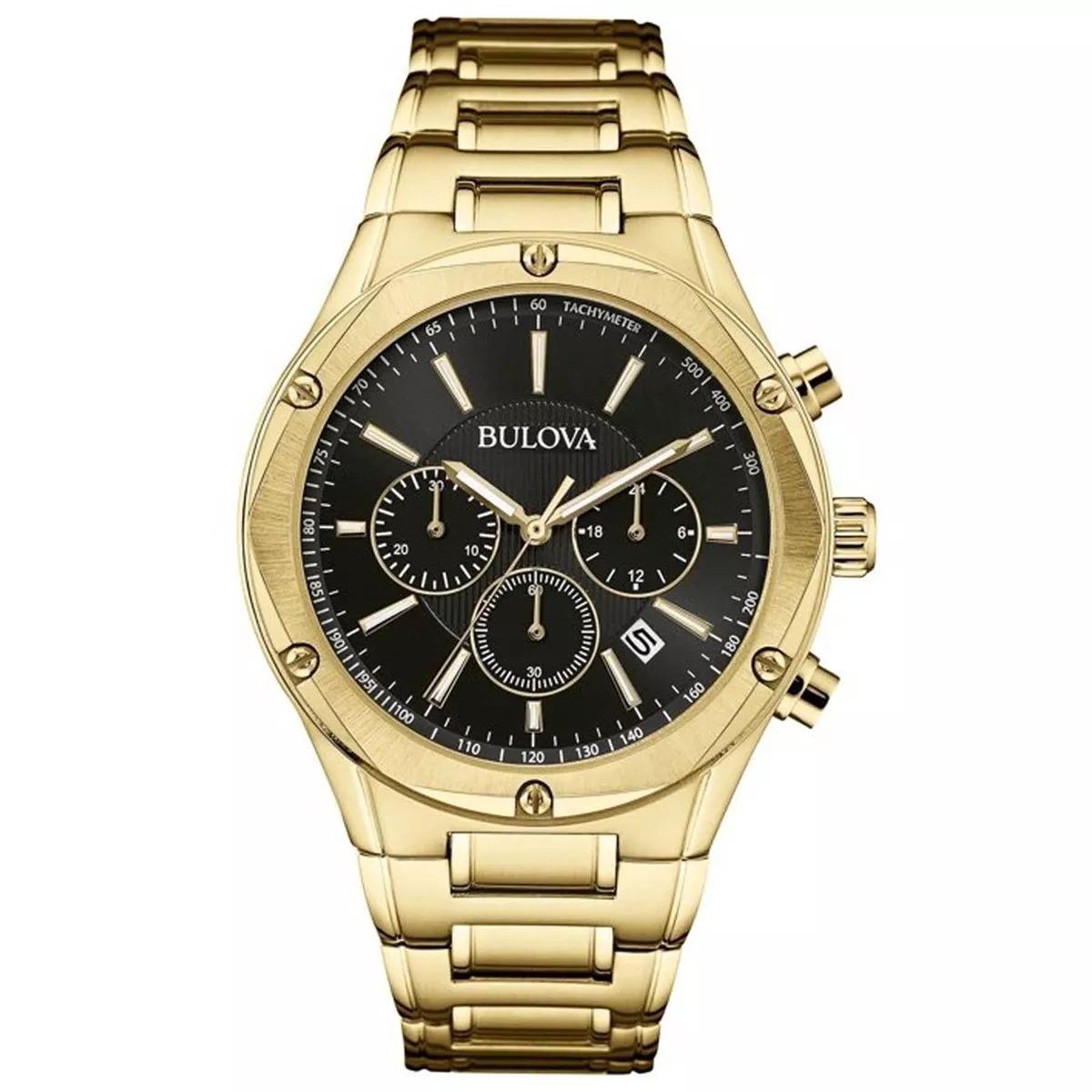 48db0c95157 relógio bulova masculino dourado wb22408u original e barato. Carregando  zoom.