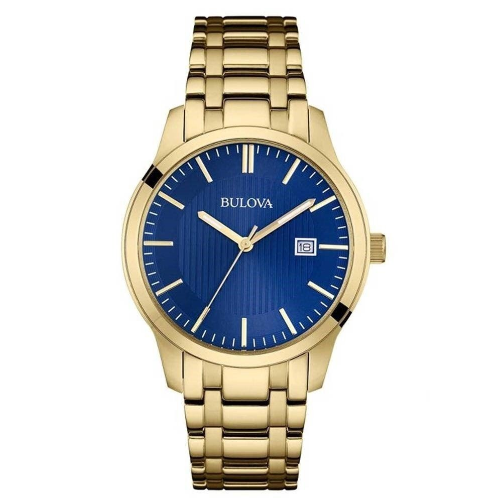 7ccd89eff0e relógio bulova masculino dourado wb22444z original e barato. Carregando  zoom.