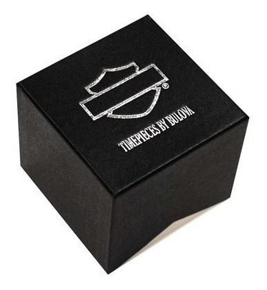 relógio bulova masculino harley davidson wh30322t 76b155