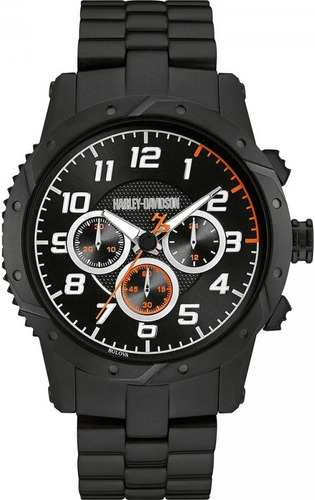 relógio bulova masculino harley davidson - wh30564p