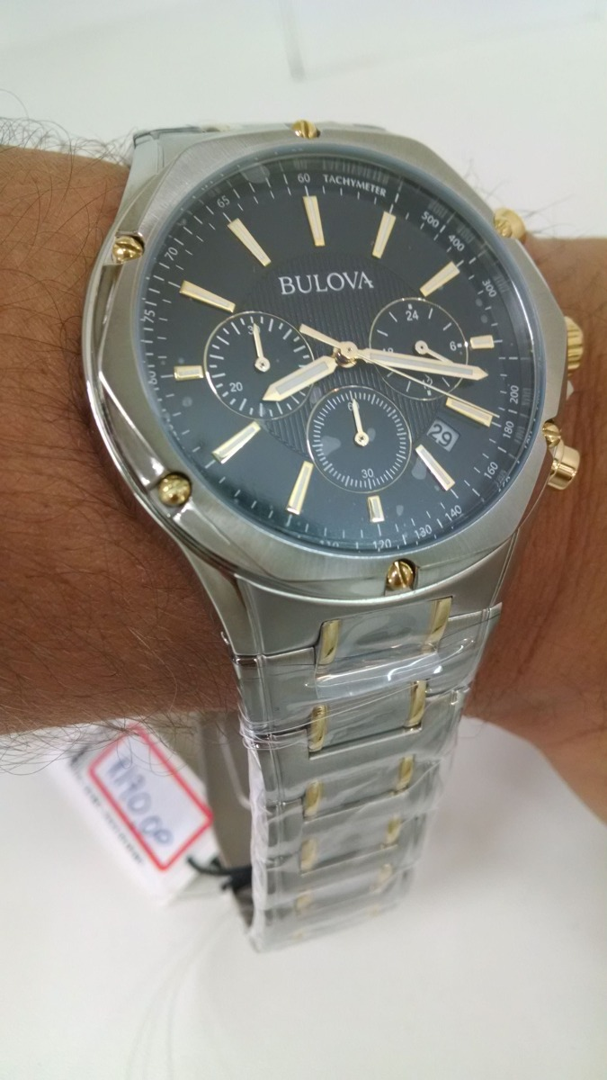 8af58eaf14a relógio bulova masculino wb22408 original e barato. Carregando zoom.