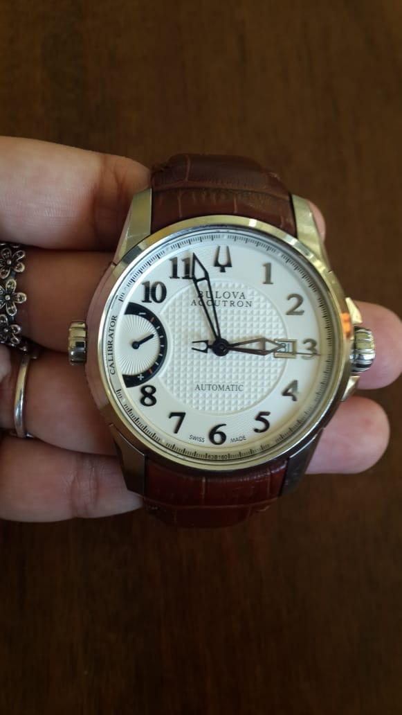 21cc3bce140 relógio bulova original sem detalhes. um luxo!!! Carregando zoom.
