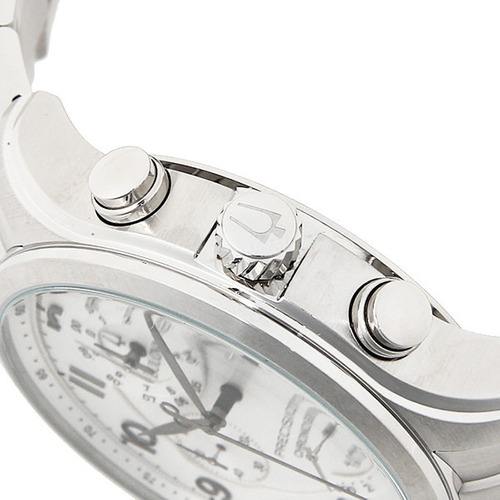 relógio bulova precisionist 96b183 orig chron anal prta