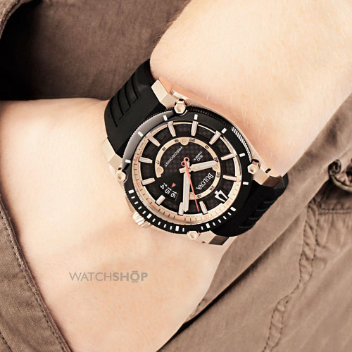 relógio bulova precisionist 98b152 orig anal black!!!
