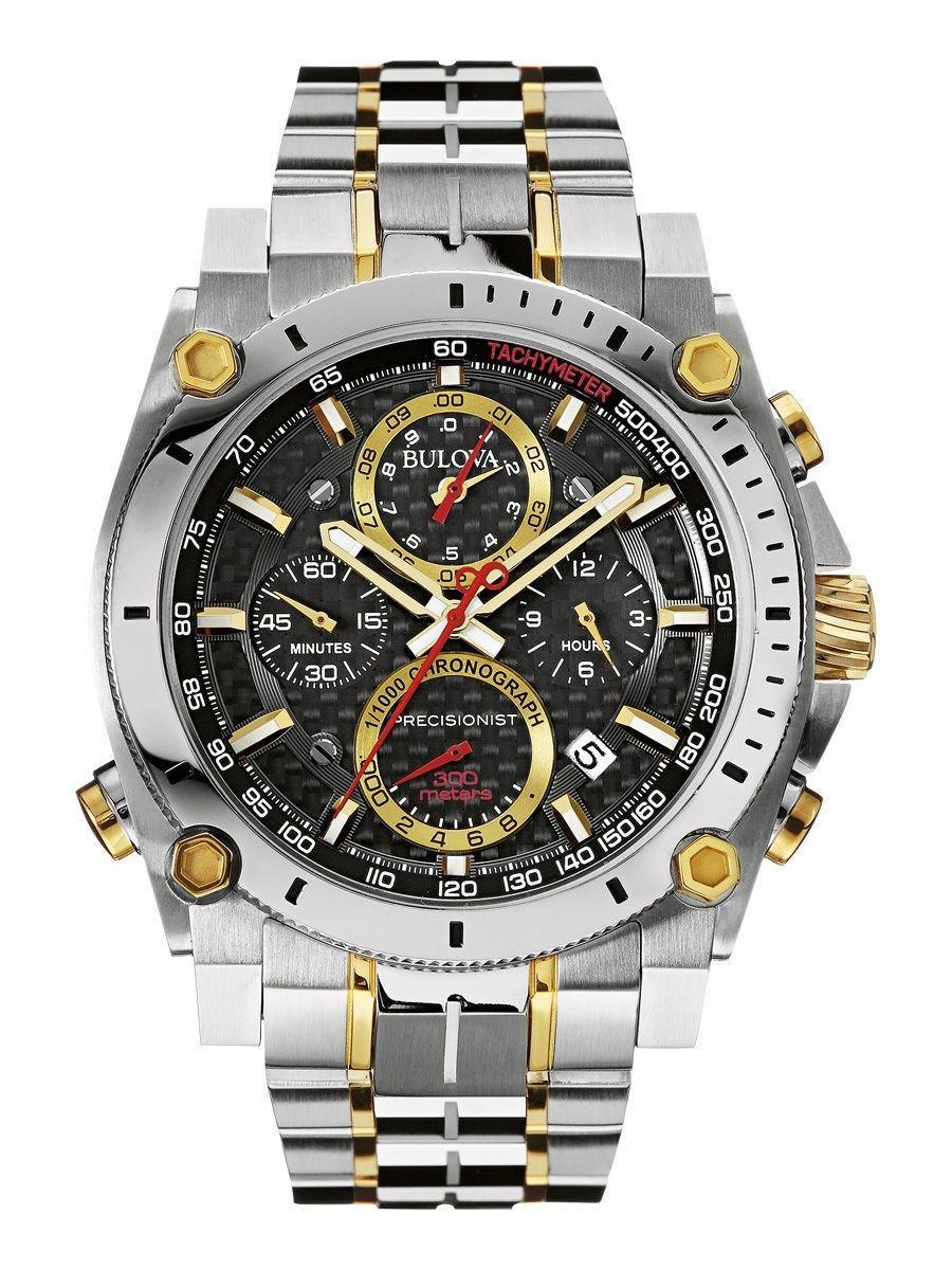 3e77af6cae5 relógio bulova precisionist masculino 98b228. Carregando zoom.