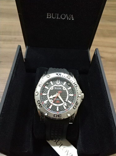 relógio bulova precisionist wb31505t