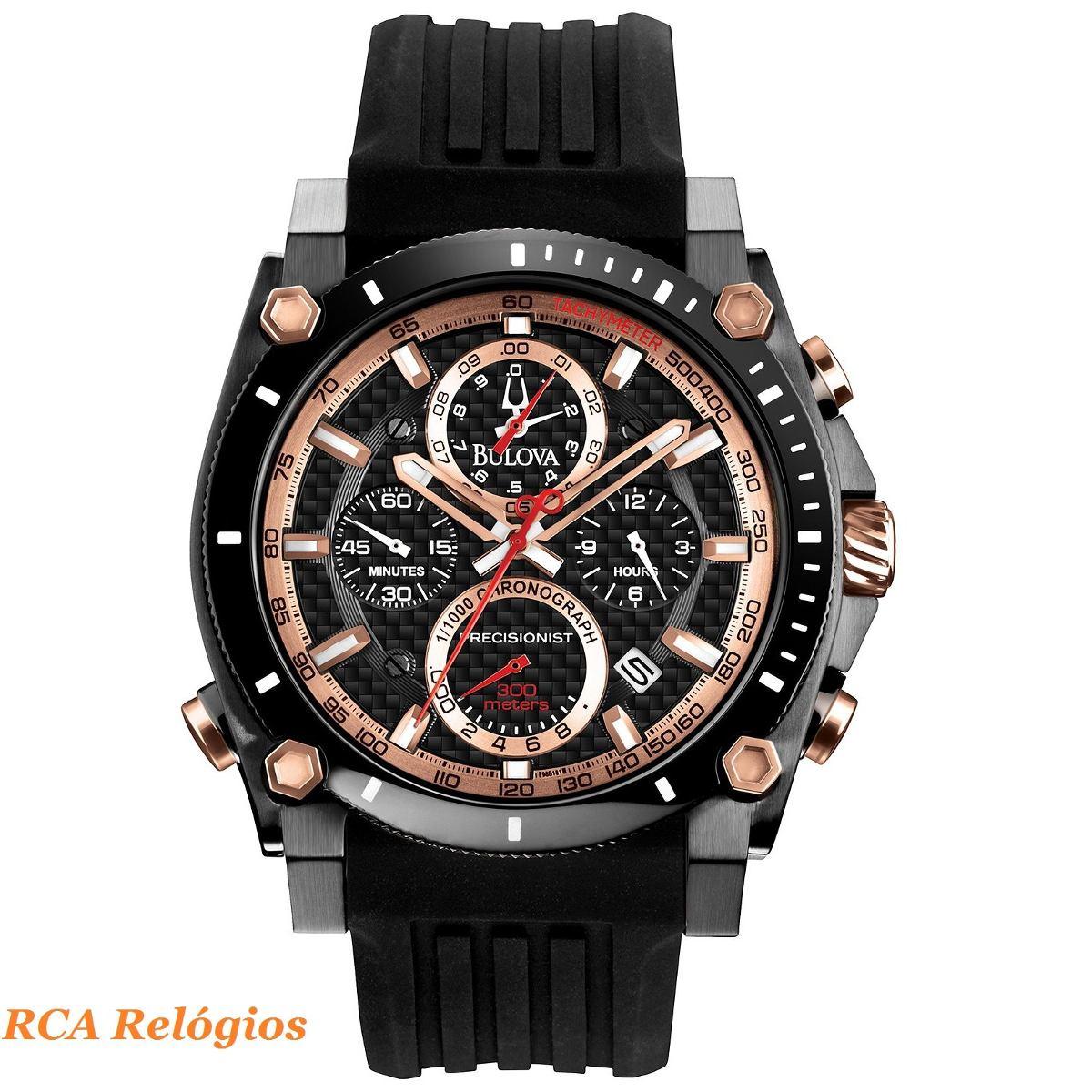 23758cb2465 Relógio Bulova Precisionist Wb31603p (nf-e + Garantia) - R  2.869