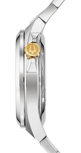 relógio bulova skeleton automático 98a224 + nfe + garantia