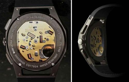 relógio bulova titanium curv 98a162 original garantia nfe