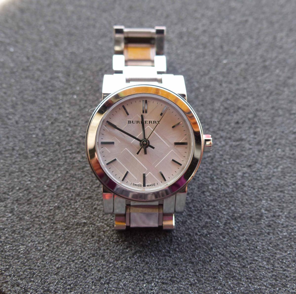 6a0480e6366 relógio burberry feminino original vidro cristal de safira. Carregando zoom.