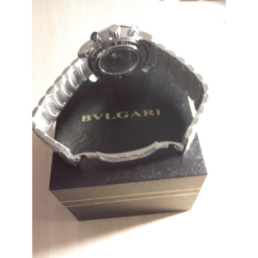 3551d356c4f relogio bv iron man prata f branco original. Carregando zoom.