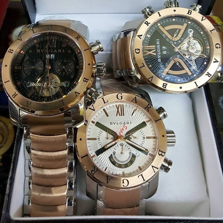 d1a908f211f Relógio Bv Iron Man Serie Ouro Rose Original - R  369