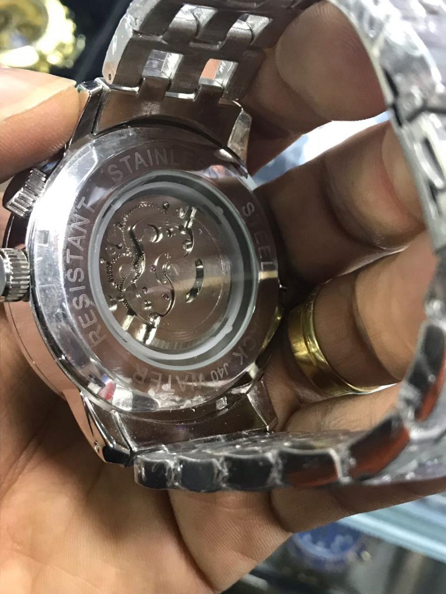 3269bbd59f9 relógio bvl masculino dourado automático frete gratis. Carregando zoom.