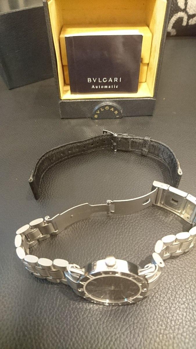 d16295d44a7 Carregando zoom... relógio bvlgari bb33sld completo com duas pulseiras