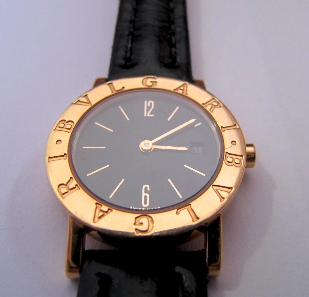 b6b7f4a4b00 relógio bvlgari bulgari bb 26 gl feminino quartzo ouro. Carregando zoom.