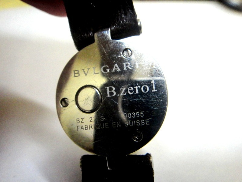 8532729de70 relógio bvlgari b.zero 1 ladies watch dial azul ref  bz 22 s. Carregando  zoom.