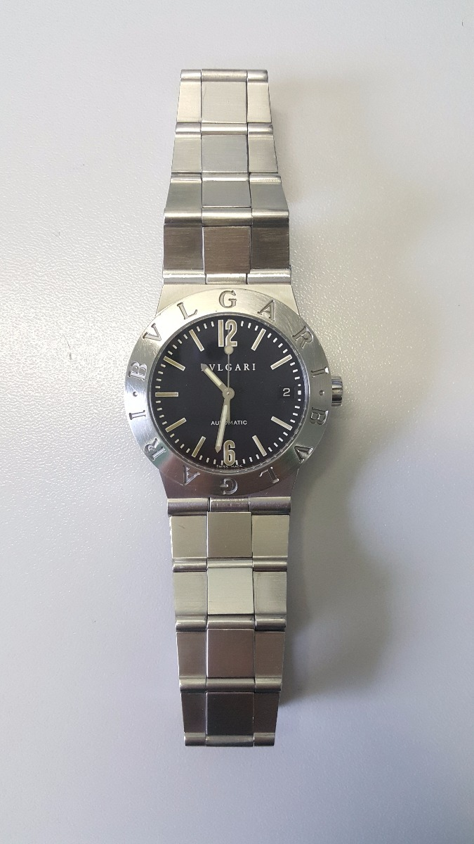 203b1025249 Relógio Bvlgari Diagono Automático Mod. Lc35s (promoção!) - R  5.100 ...