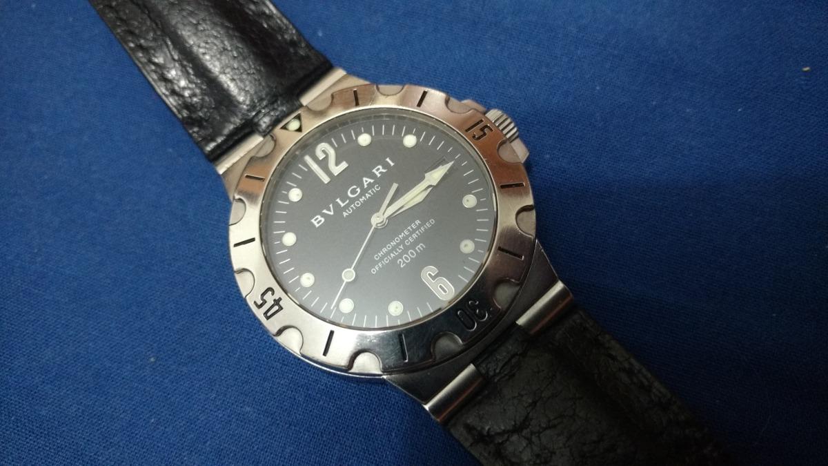 4f2293347fd relógio bvlgari diagono scuba sd38s ac troca rolex iwc omega. Carregando  zoom.