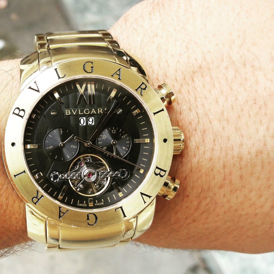 Relógio Bvlgari Iron Man Automático - R  550,00 em Mercado Livre b42e6dc1b6