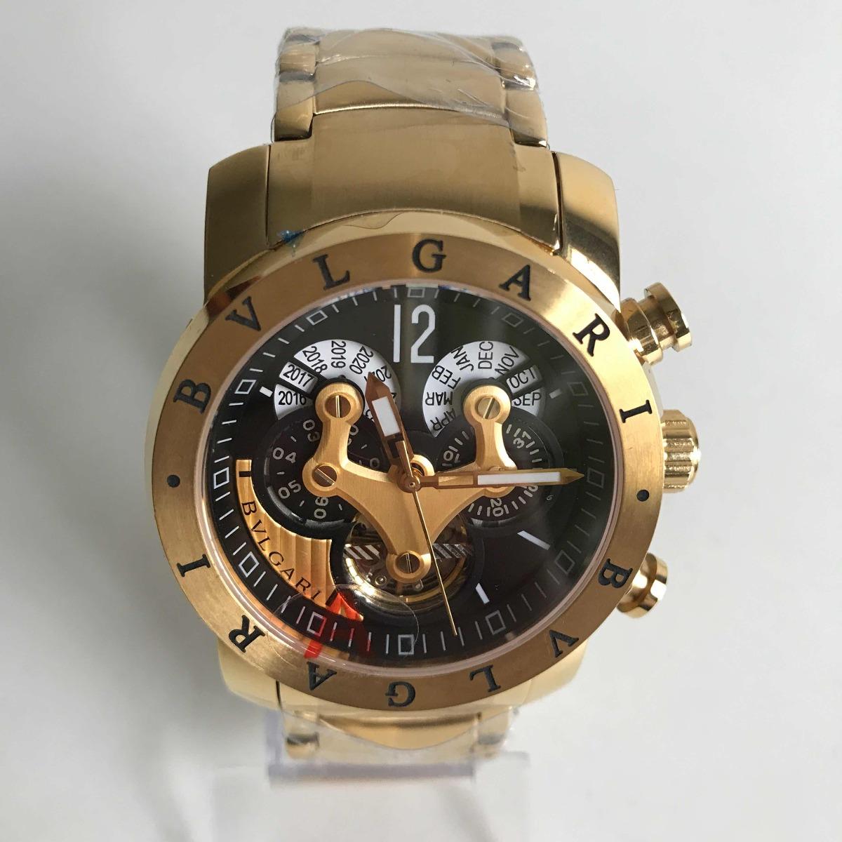 751763783da Relógio Bvlgari Iron Man Dourado