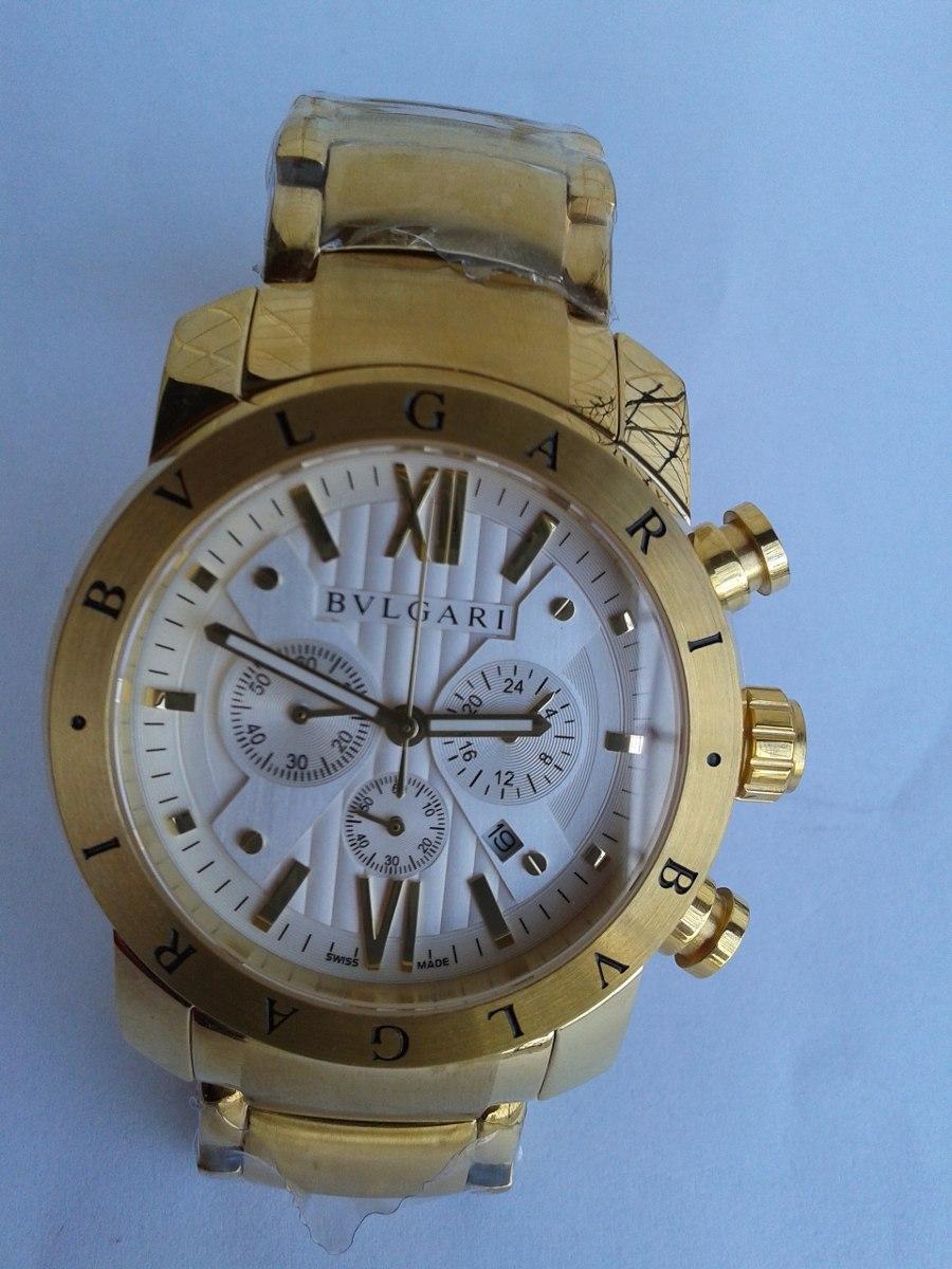 860796aca0a relógio bvlgari iron man dourado frete grátis com caixa. Carregando zoom.