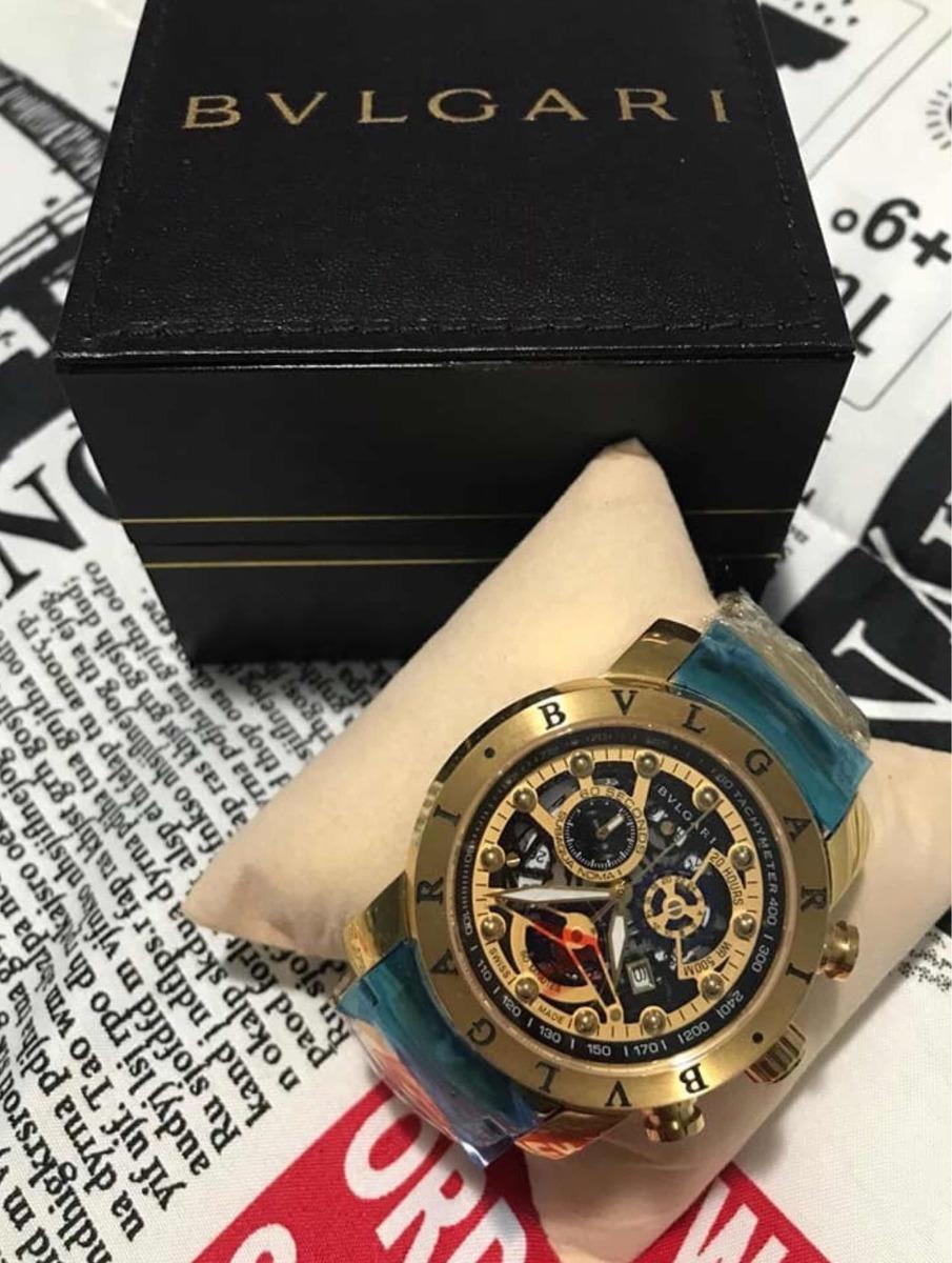c343de05fff Relógio Bvlgari Iron Man Original Promoção!! - R  359