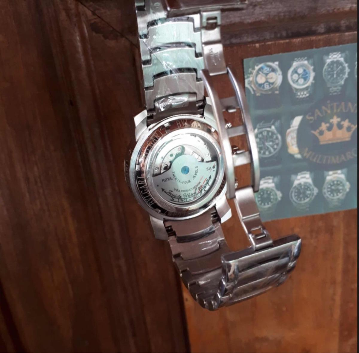 e260de56313 relógio bvlgari iron man venon skeleton dourado prata preto. Carregando  zoom.