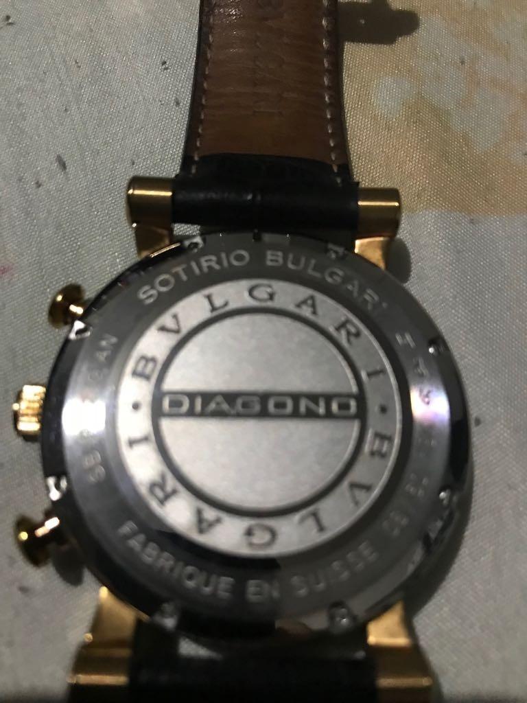 3fe46034946 Relogio Bvlgari Sb P 42 G An 18k Caixa Em Ouro Maciço (origi - R ...