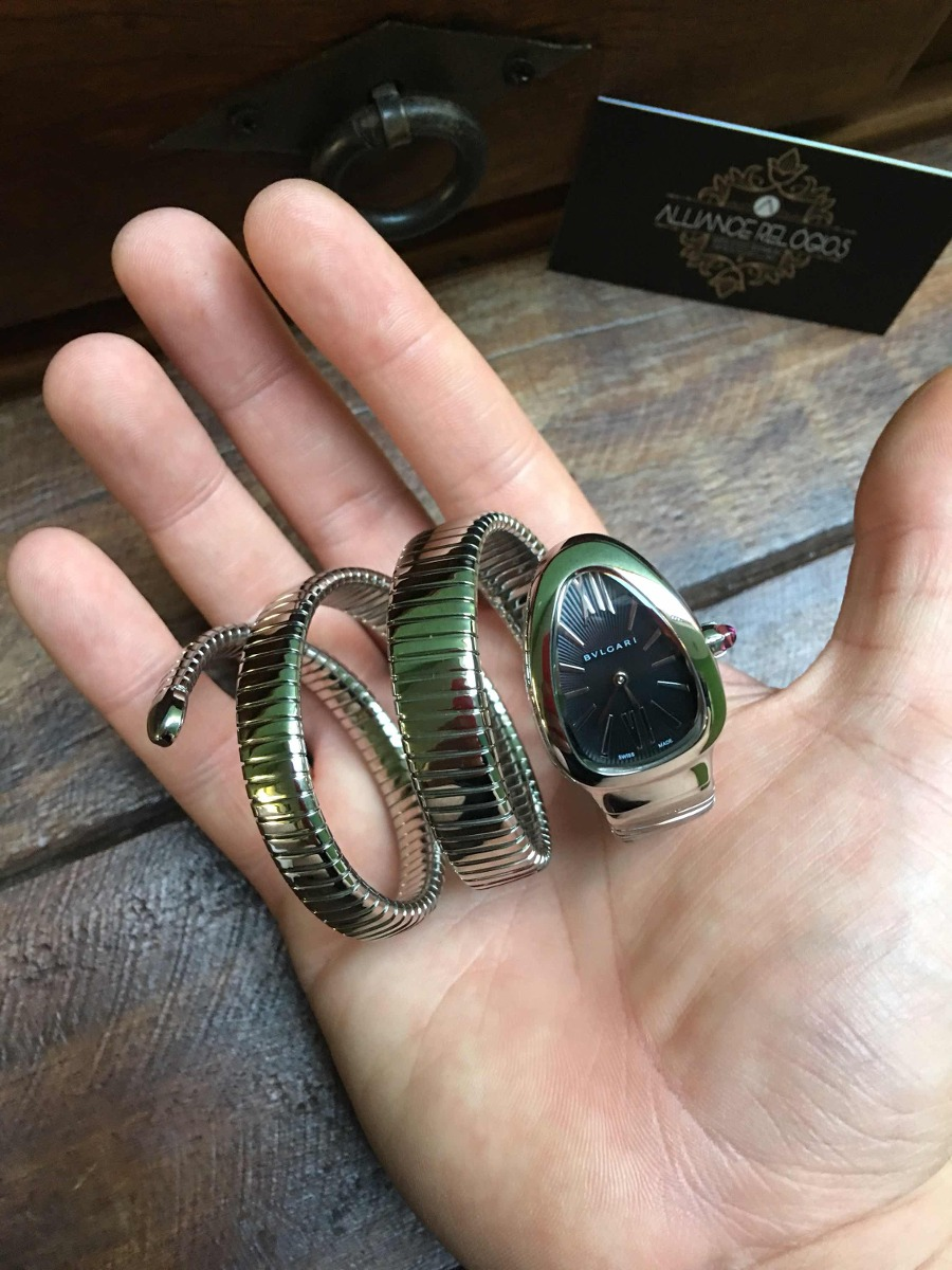 18bc1fe3158 relógio bvlgari serpente (acabamento suíço). Carregando zoom.