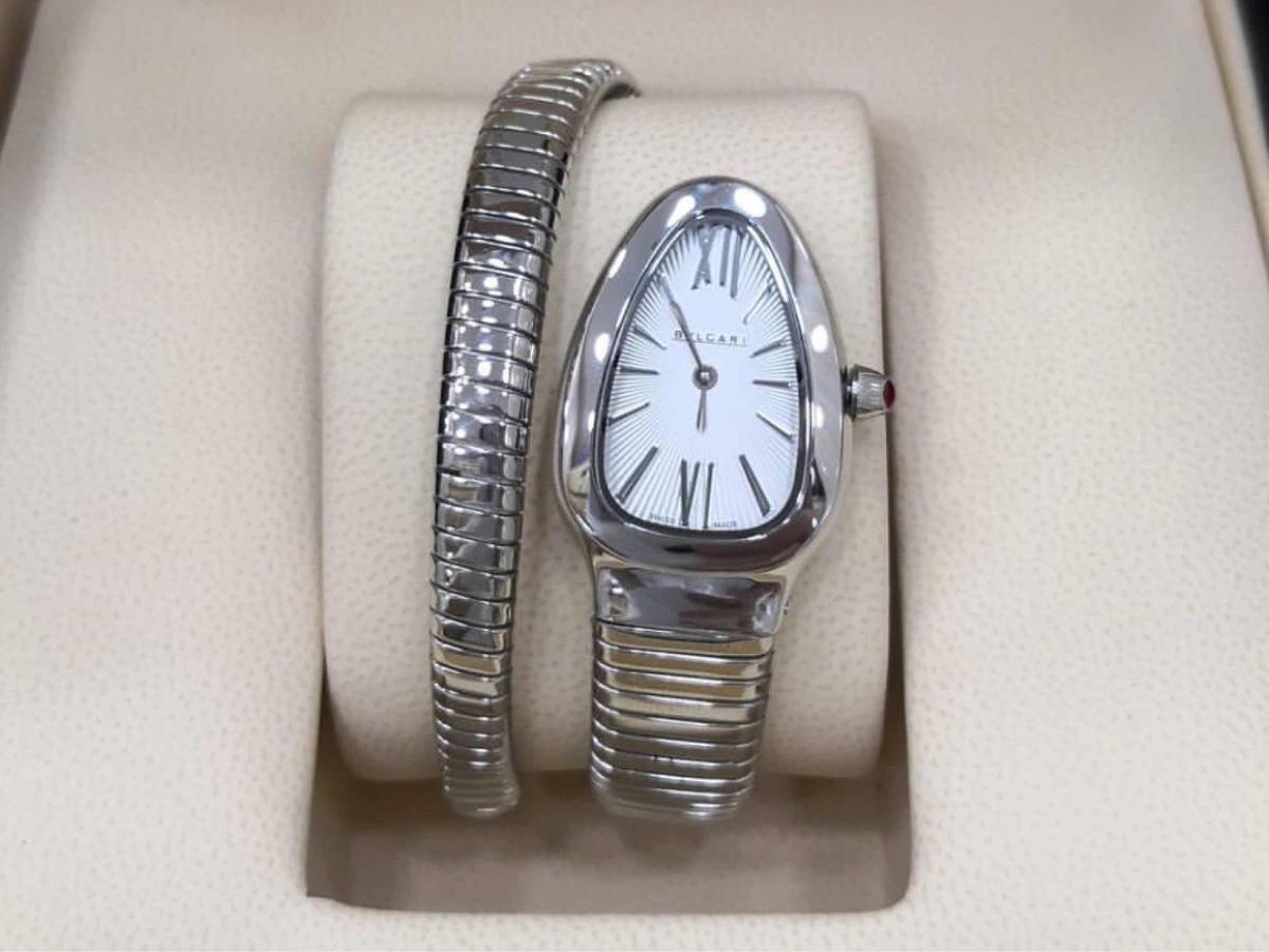 b3340f1111e74 Relógio Bvlgari Serpenti Várias Cores E Modelos - R  899