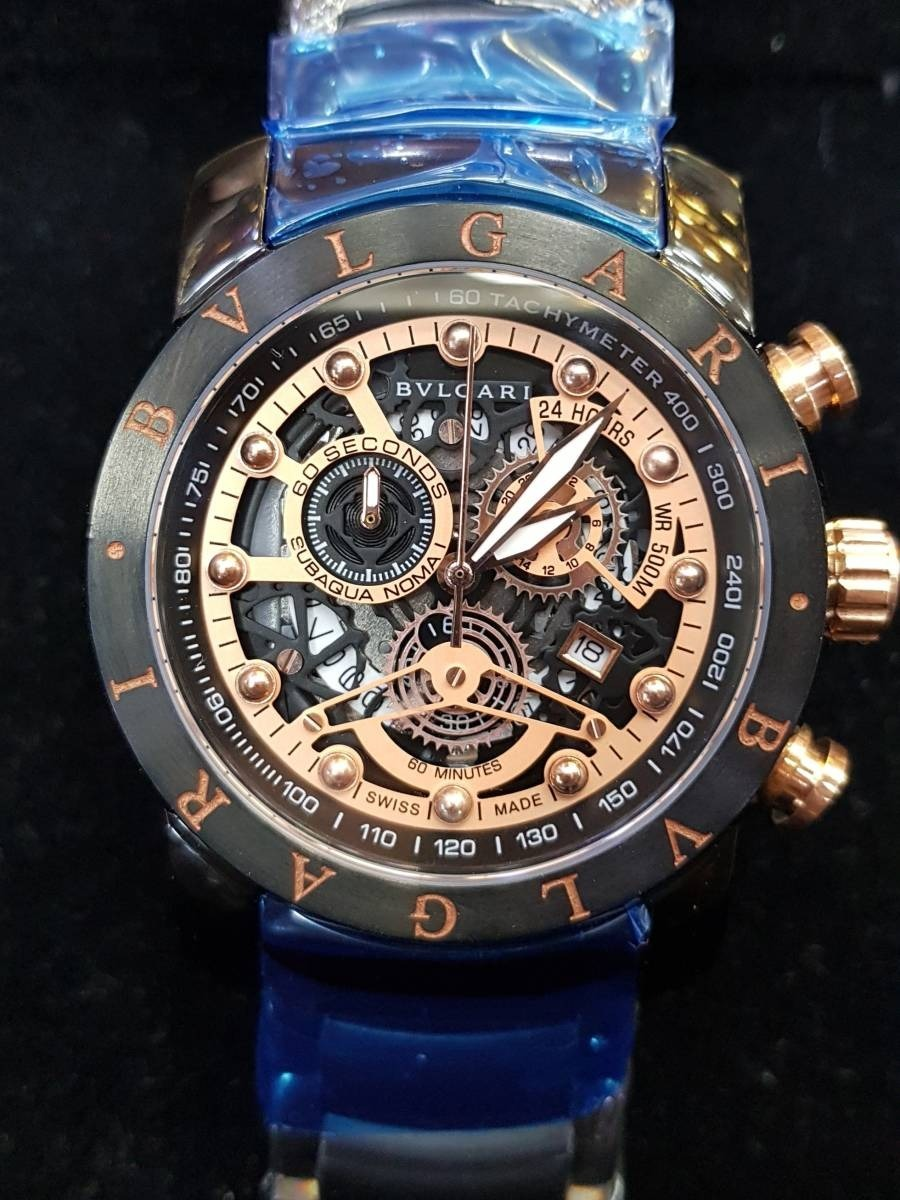 1531313381c relógio bvlgari skeleton ii. Carregando zoom.