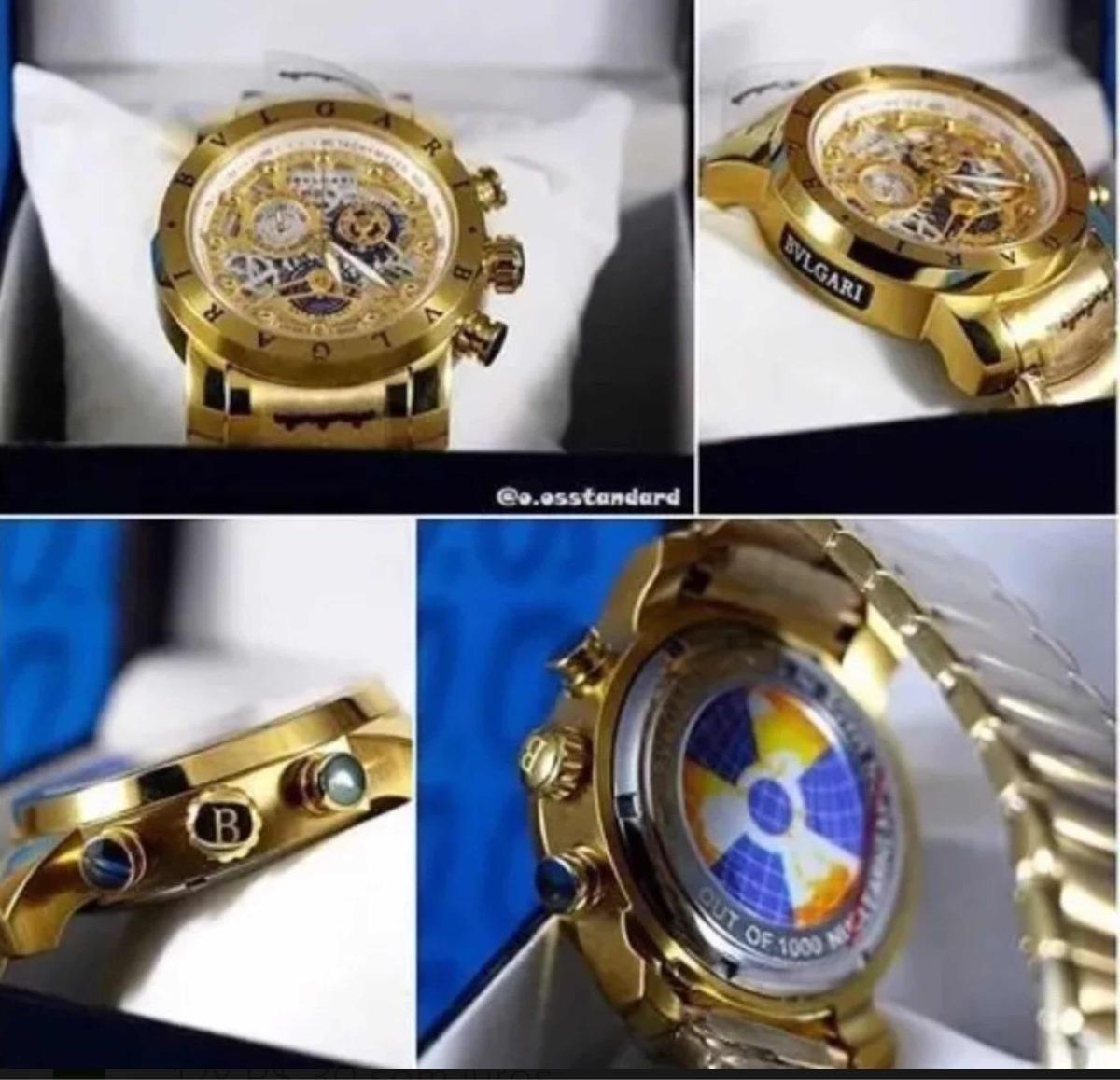 e5679ec9e43 relógio bvlgari subaqua skeleton dourado prata liquidação!!! Carregando  zoom.